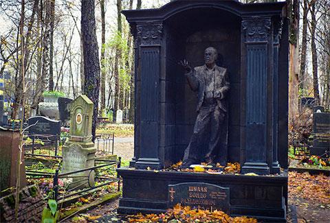 Могила Бондо Ражденовича Шулая