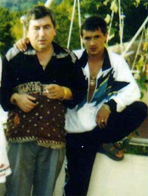 Слева воры в законе: Датико Цихелашвили (Дато Ташкентский) и Ильдар Асянов (Ильдар Уфимский)
