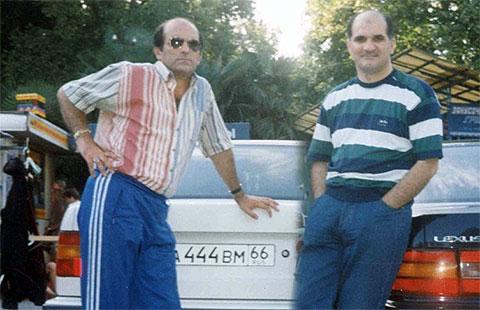 Слева воры в законе: Каро и Мирон Мамедовы