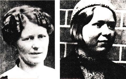 Слева: Роза и Ирма Тельман