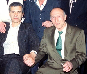 Слева: вор в законе Валерий Шеремет (Шарик) и авторитет Владислав Шуськин (Комиссар)