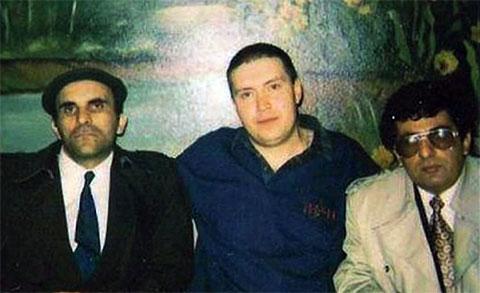 Слева воры в законе: Короглы Мамедов (Каро), Андрей Трофимов (Трофа), Бахтияр Керимов (Бахо Новханинский)