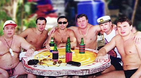 Второй справа: Александр Трунов
