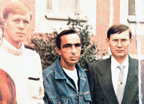 Слева воры в законе: Вячеслав Крылов (Славка Крыл), Александр Загороднев (Хряк), Алексей Матюнин (Лесик)