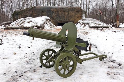 Пулемет Максим 1910 года фото