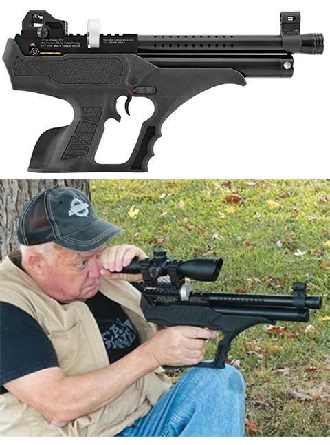 Пневматическая винтовка с предварительной накачкой Hatsan Sortie