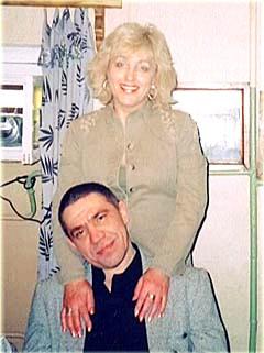 Сергей Васильченков с подругой