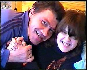 Сергей Васильченков с дочкой
