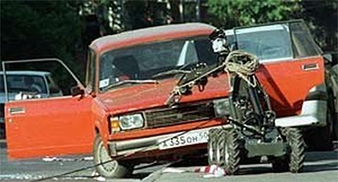 Сконструированная А.Шерстобитовым «смерть-машина»