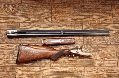 Разобранное ружье ТОЗ-66