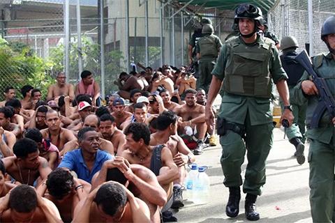 Бунт в тюрьме Эль Родео