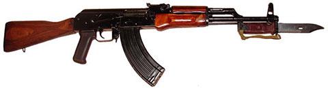 АК-47 со штык-ножом (фото)
