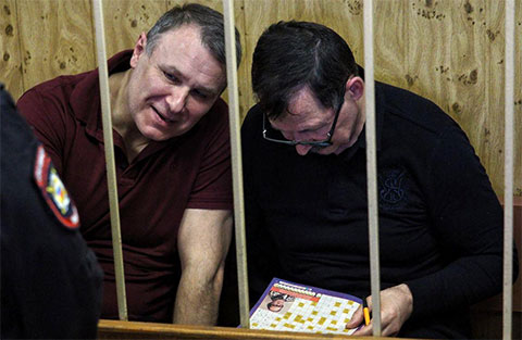 Слева: Вячеслав Дроков и Владимир Барсуков