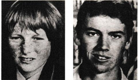 Слева: Саймон Амос и Джеймс Аннет
