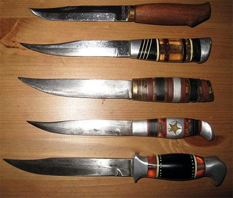 Ножи, сделанные в тюрьме