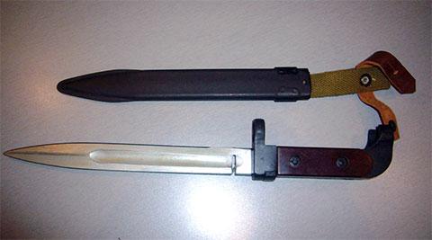 Штык-нож АК-47 с пропилом фото