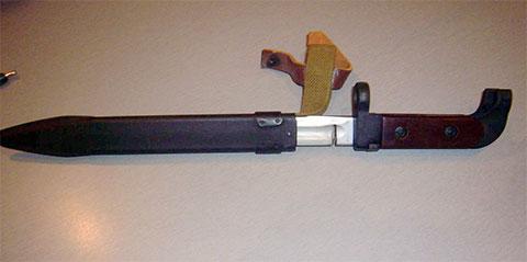 Штык-нож АК-47 - пропил фото