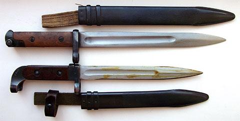 Штык-ножи АК-47 с ножнами - (фото)