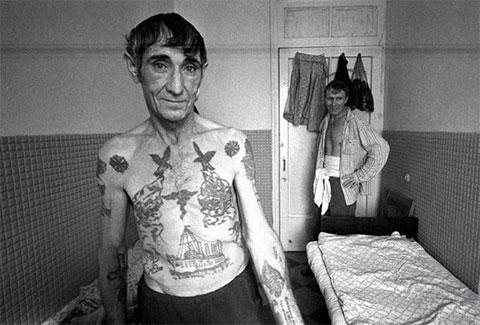 Старые зоновские татуировки фото