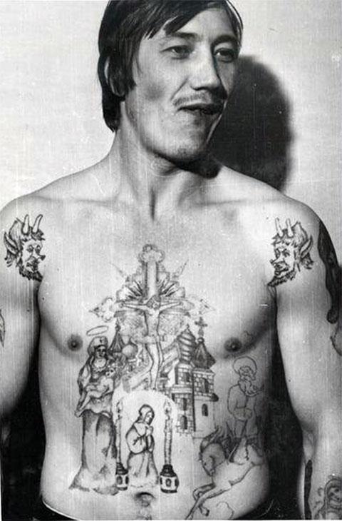 Расшифровка криминальной тату фото