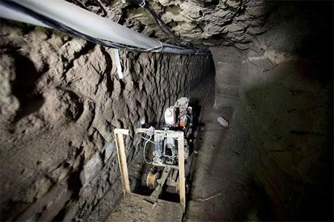 Тоннель, прорытый в тюрьме для Хоакина Гузмана