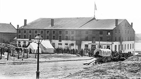 Тюрьма «Либби» в Ричмонде