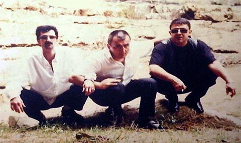Слева воры в законе: Годжа Ясамальский, Вагиф Ленкоранский, Мамед Масаллинский