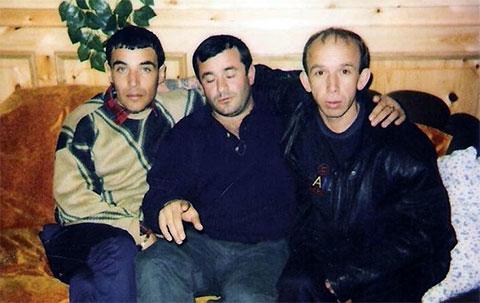 Слева воры в законе: Игорь Бурилин (Егор) и Бадри Аданая (Тамаз Новороссийский)
