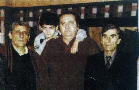 Слева вор в законе Рафаэл Багдасарян (Сво Раф), справа Гайк Геворкян (Гога Ереванский)