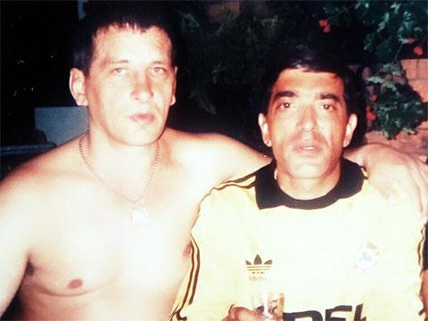 Слева воры в законе: Александр Кудинов (Кудин) и Тенгиз Думоев (Гочо)