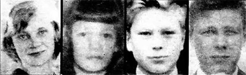 Убитые на озере Бодом дети