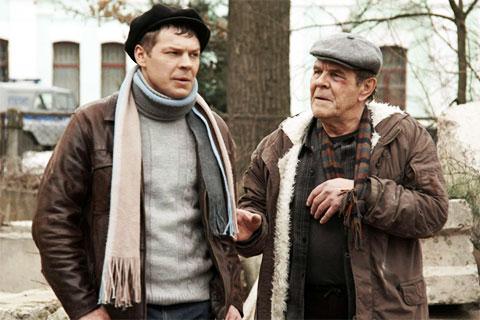 Егор Клейменов и Алексей Булдаков (кадр из фильма «Горчаков»)