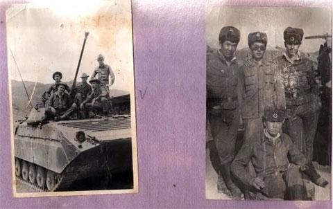 Фото из армейского альбома Бахи Фестиваля