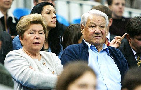 Борис и Наина Ельцины