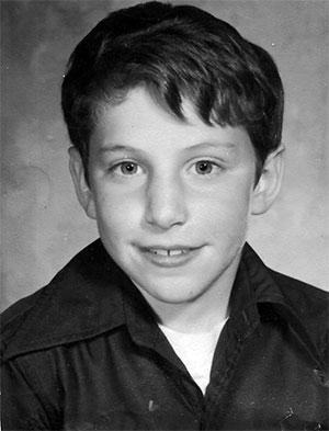 Кевин Митник в детстве
