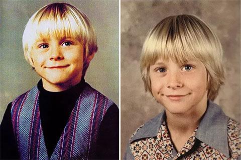 Курт Кобейн в детстве - фото