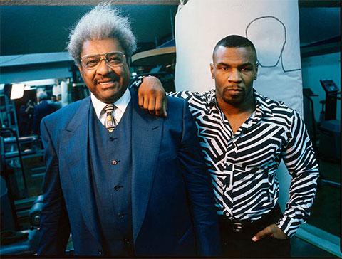 Дон Кинг и Майк Тайсон