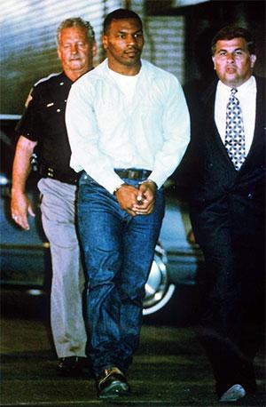 Арест Майка Тайсона