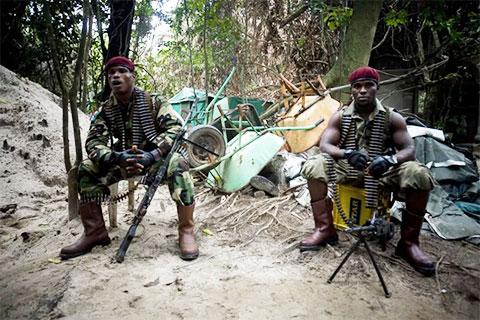 Нигерийские пираты экипированы и хорошо вооружены