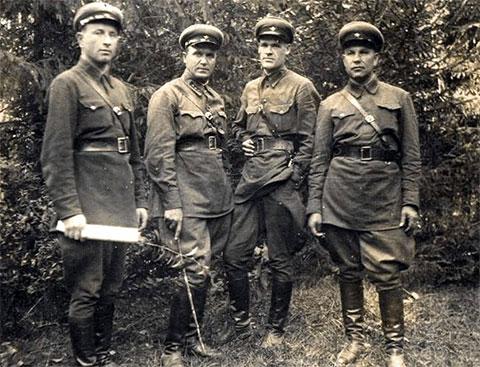Сотрудники НКВД