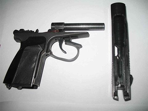 Пистолет ПММ