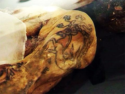 Татуировки «Алтайской принцессы»