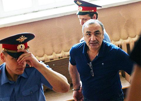Задержание Тариэла Ониани