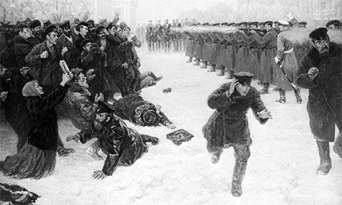 Кровавое воскресение 1905 года