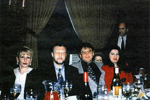 Слева: Фаина Комиссар, Вячеслав Иваньков, Осман Кадиев