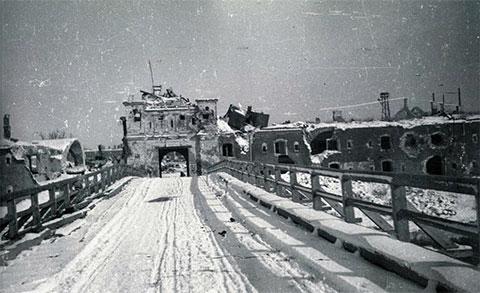 Тереспольские ворота крепости Брест-Литовск, 1941-1944 гг