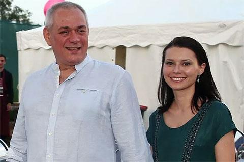 Сергей Доренко и Юлия Силявина