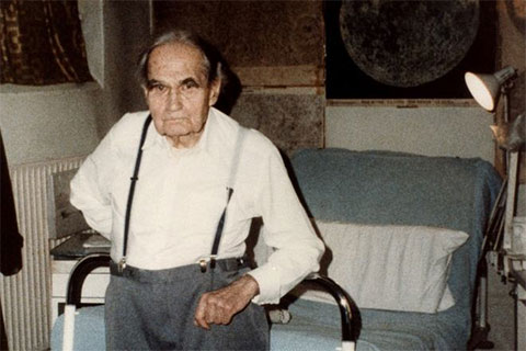 Рудольф Гесс в старости