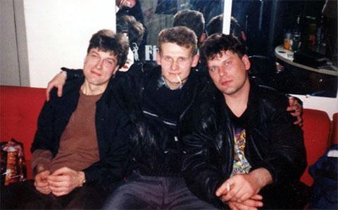 Справа: Юрий Хой