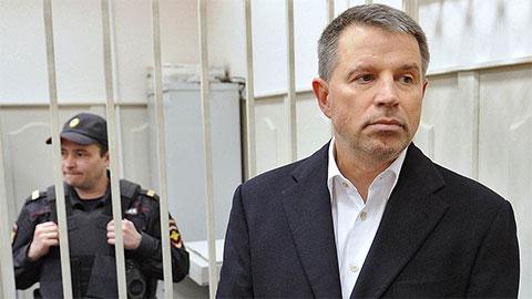Андрей Комаров в суде